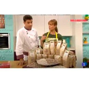 La Mejor Alubia en el programa de televisión de RTVE Programa Cocina con Sergio.